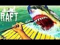 JE ME SUIS FAIT ATTAQUER PAR UN REQUIN ! | Raft #4