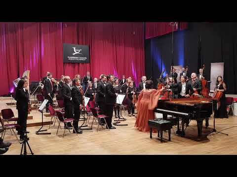 Kosovo Philharmonic Orchestra with Pianist Yesim Gokalp-Conductor Toshio Yanagisawa