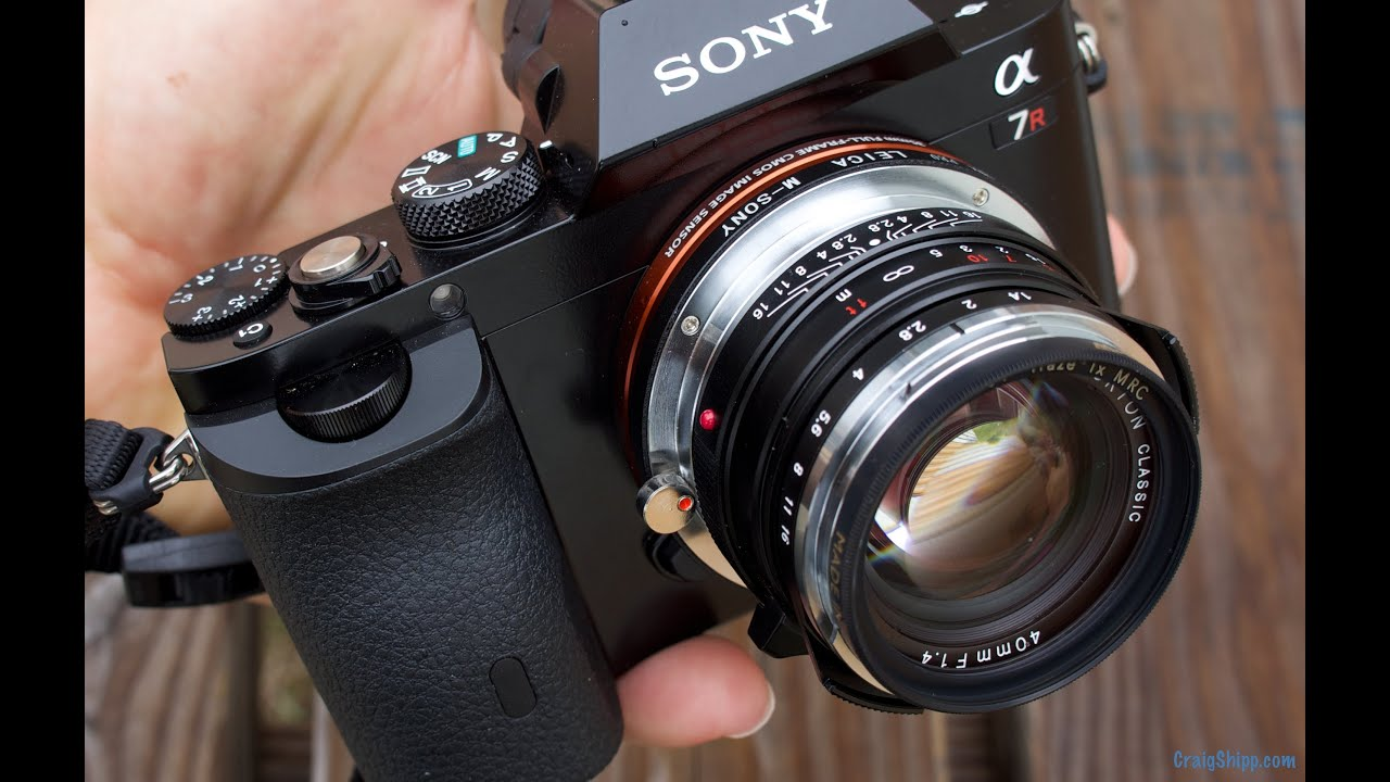 Sony A7r with Voigtlander Lenses