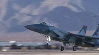 F-15 Aggressors - Red Flag 09-5 Nellis AFB