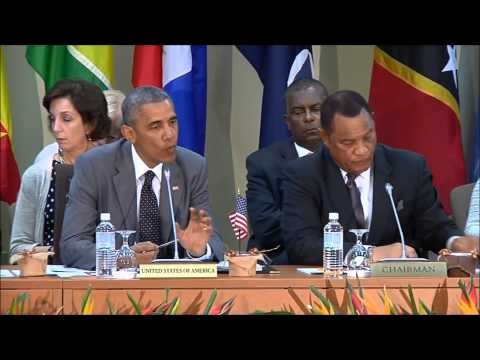 Obama meets leaders from Caribbean Community