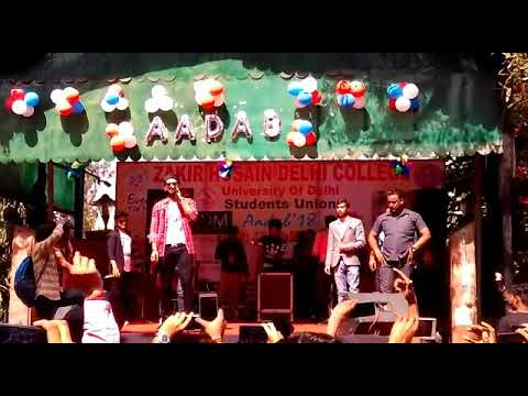  DU Fest 2k18   SHIVJOT  Live in Zakir Husain Delhi College