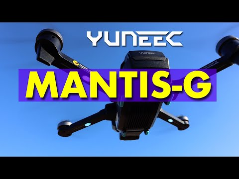 Yuneec Mantis-G Drone - Almost Perfect - My First Impressions