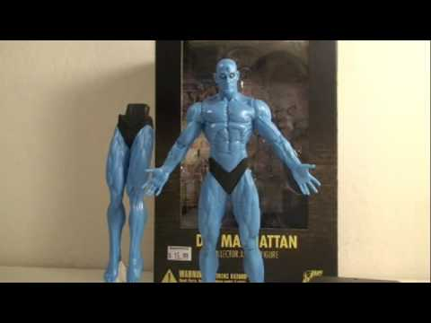 Watchmen DC Direct Dr. Manhattan Movie Action Figure Toy Review