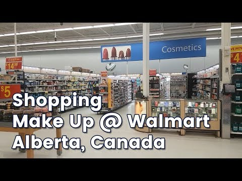 Touring The Cosmetics Section At A Walmart In Canada | CORRIE V