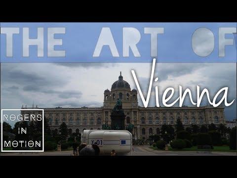 Lots of art in Vienna (Austria Travel Vlog)