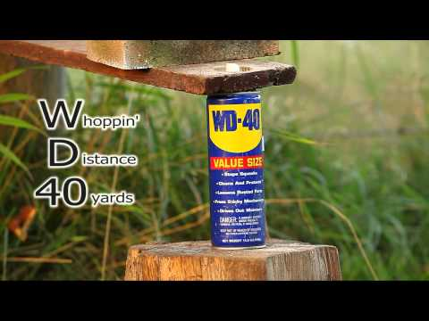 WD-40 Recovery with .22 Benjamin Marauder
