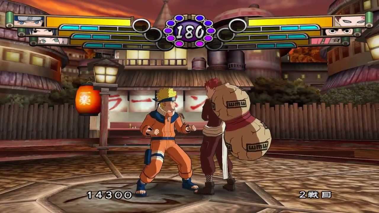 Dolphin Emulator 4 0 2 | Naruto Gektiou Ninja Taisen! 4 (NTSC-J) [1080p HD]  | Nintendo GameCube