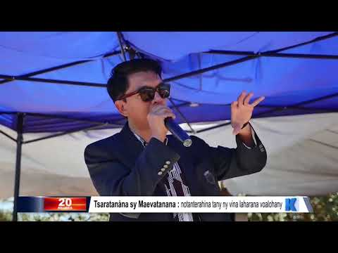 INFO K MADA : PRM Maevatanana DU 24 AOUT 2019 BY KOLO TV