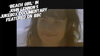 Stephanie Yanez with Donovan in John Lennon's Jukebox Documentary