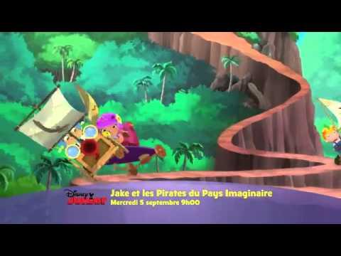 Jake et les pirates nouveaux pisodes fran ais sur disney - Jake et les pirates ...