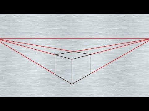 Two Point Perspective Basic - in Hindi