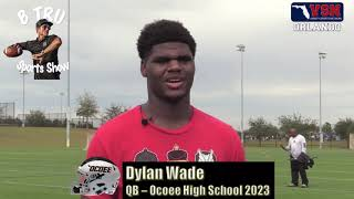 BTRU SPORTS SHOW (VSN): EPISODE 8 - QB Camp Recap, Dylan Wade Interview & District Realignment Talk