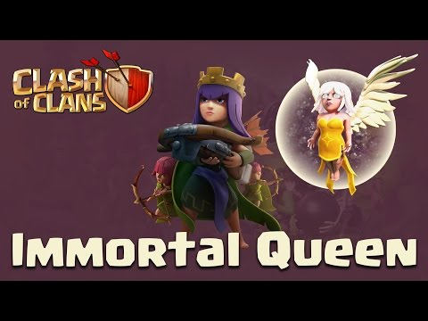 Clash Of Clans | Queen Walk + Govaho