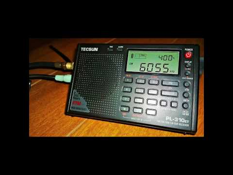 Ultralight SW-DX Radio Nikkei 1 6055 kHz. ( JOZ-2 ). Japan-Chiba-Nagara. ID.