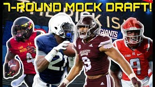 New York Giants 2019 7-Round Mock Draft 1.0!