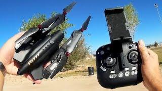 FQ777 FQ02W Folding FPV Camera Drone Flight Test Review