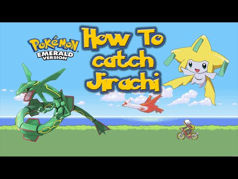 Find Jirachi on Emerald Spoof