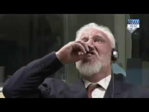 Tribunale dell'Aia. Ex generale croato si avvelena al processo d'appello