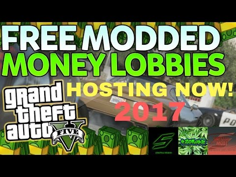 GTA 5 MONEY DROP LOBBY *FREE* ''MODDED MONEY LOBBY!'' (PS4,XB1,PC,PS3,Xbox 360)