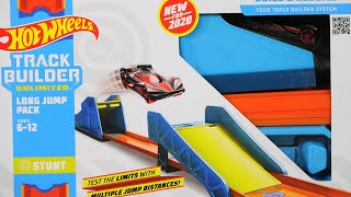 New 2020 Hot Wheels Track Builder Long Jump Pack Build Boost & Stunt