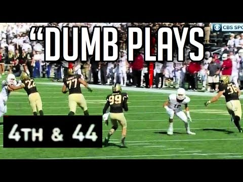 Dumbest Plays in