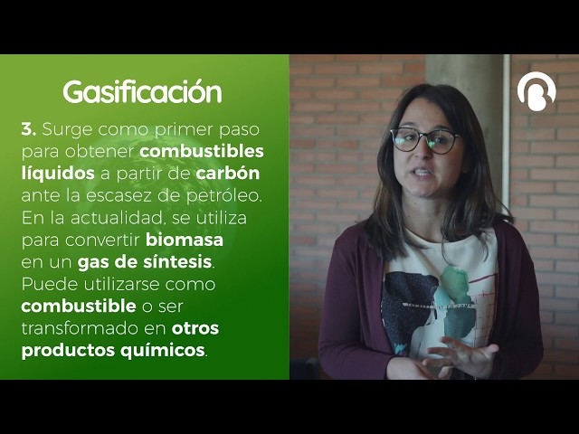 Gasificación | Isabel Martínez | CienciaCreActiva | Bio3