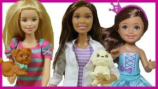 Barbie ve Kızının Hayvan Barınağı Gezisi   Barbie Türkçe izle   EvcilikTV Barbie Oyuncakları