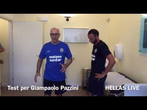 Esami per Giampaolo Pazzini