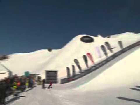 Snowboarder china Cai Xuetong triunfa en Copa Mundial de Snowboard