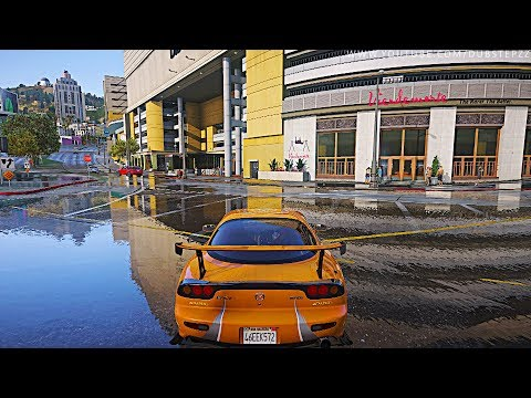 ►GTA 5 GEFORCE RTX™ 2080 Ti [Ray Tracing] 4k 60FPS Next-Gen Real Life Graphics!
