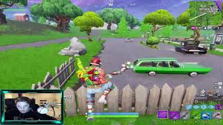 (11 year old playing fortnite carter is back at college) trying to get to 600 followers