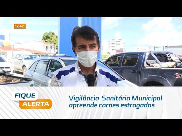 Vigilância  Sanitária Municipal apreende carnes estragadas na Feirinha do Tabuleiro do Martins