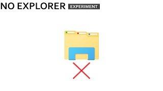 Windows Experiment : No Explorer Challenge
