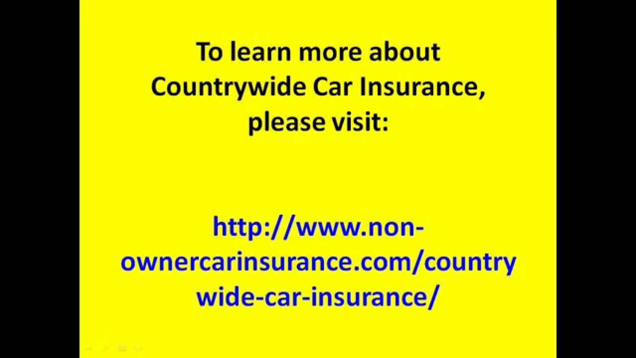 Countrywide Insurance Quote Captivating Countrywide Car Insurance Quotes  44Billionlater