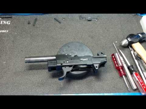 Walther P22 Complete disassembly and reassembly