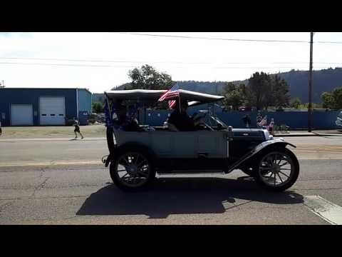 Fourth of July parade Winston, Oregon 2017!