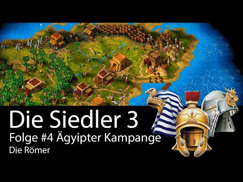 #20 Let's play die Siedler 3 |Ägypter | Kampagne 4 – Die Römer