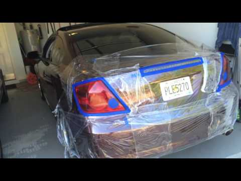 Tinting Taillights With VHT Nightshade