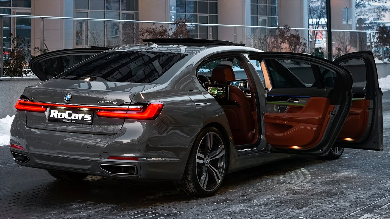 2021 Bmw 7 Series Long Sound Interior And Exterior In Detail Youtube