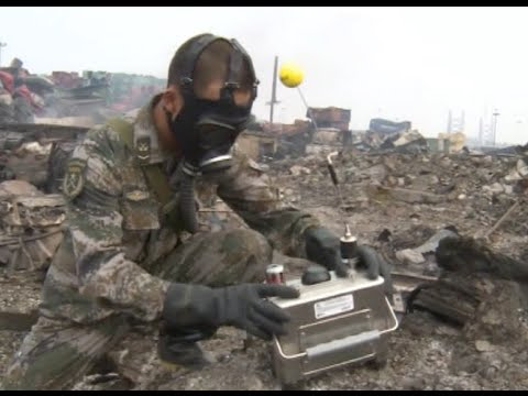 New Equipment Put into Use for Air Monitoring in Tianjin Blast Site