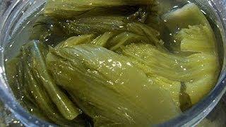 Asian Pickled Mustard Greens(chrouk spey)