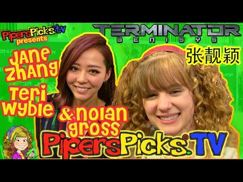 SuperGirl JANE ZHANG 張靚穎 Sings Taylor Swift  TERI WYBLE & NOLAN GROSS Terminator Genisys BTS