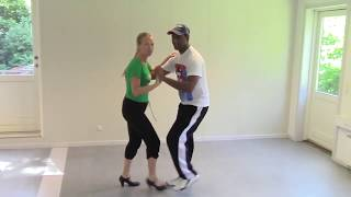 Salsa Cubana with Stine Ortvad and Felix - 1 part with music