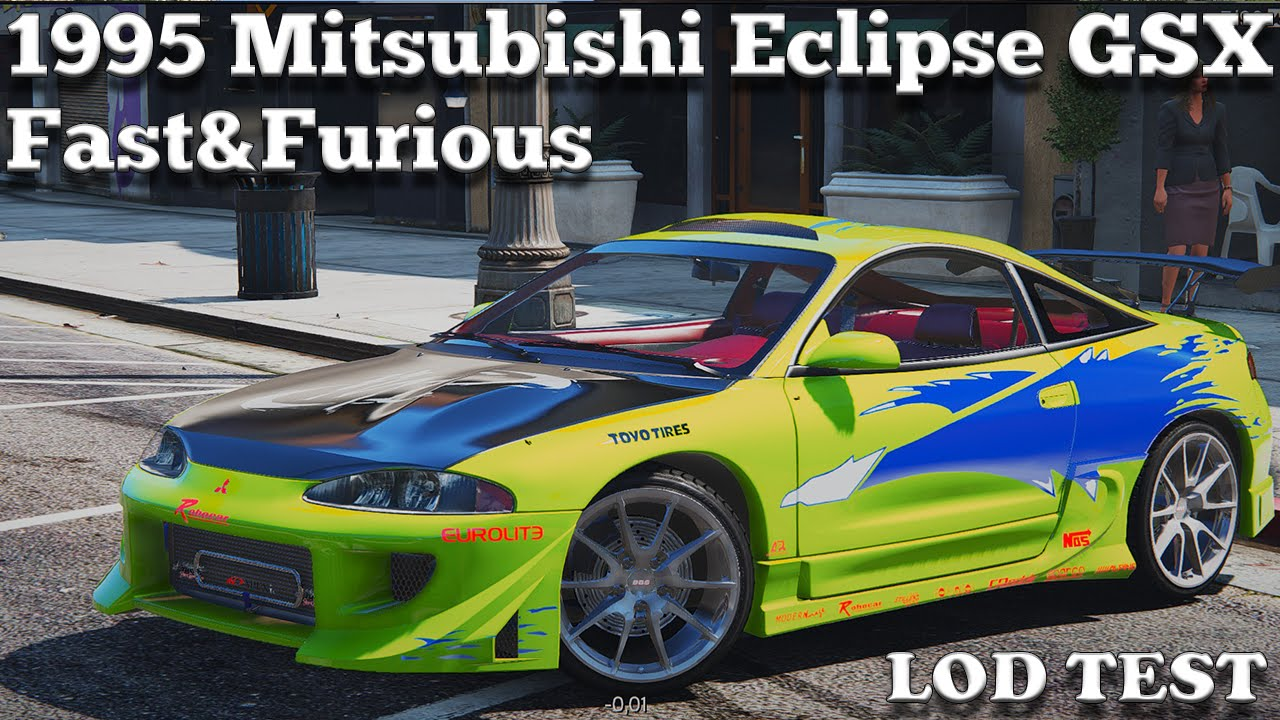 gta v pc mods 1995 mitsubishi eclipse gsx the fast and the furious download youtube. Black Bedroom Furniture Sets. Home Design Ideas