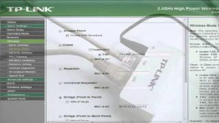 TP-Link TL-WA5210G налаштування режиму точка - точка