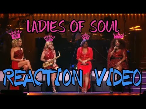Ladies Of Soul 2017 | Tribute Medley - REACTION VIDEO