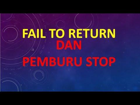 Fail to return forex