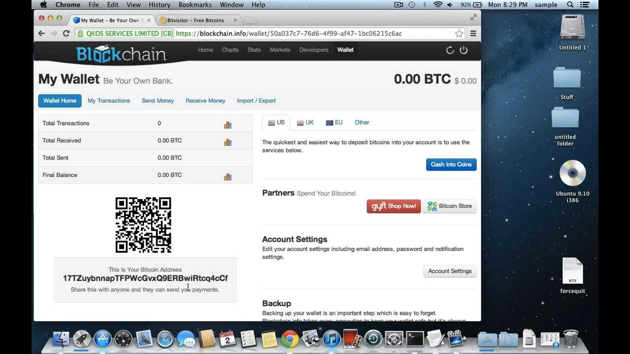 create bitcoin account