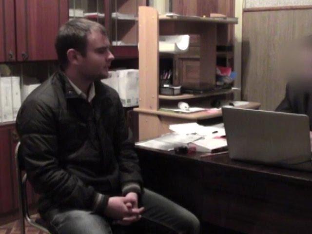 Видео допрос секретного свидетеля